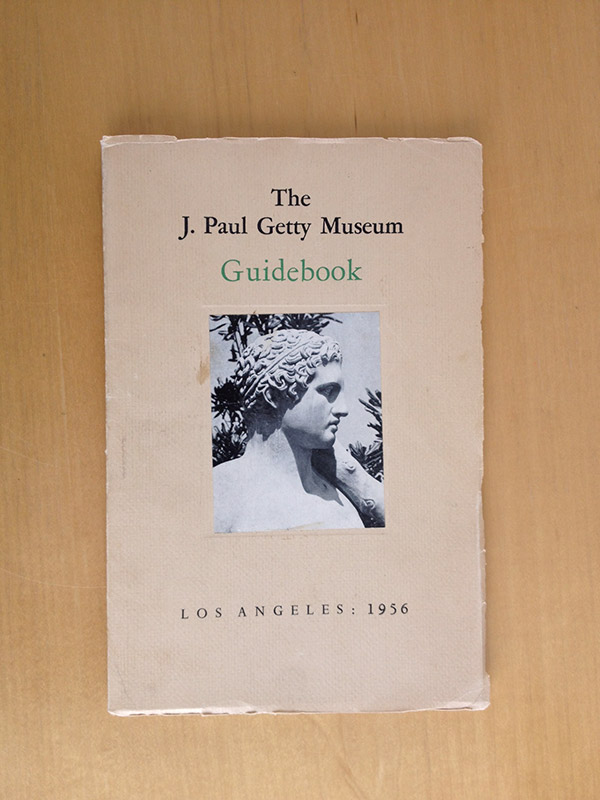 Cover of The J. Paul Getty Museum Guidebook, second edition