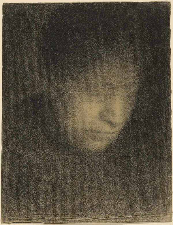 Madame Seurat, the Artist's Mother / Seurat