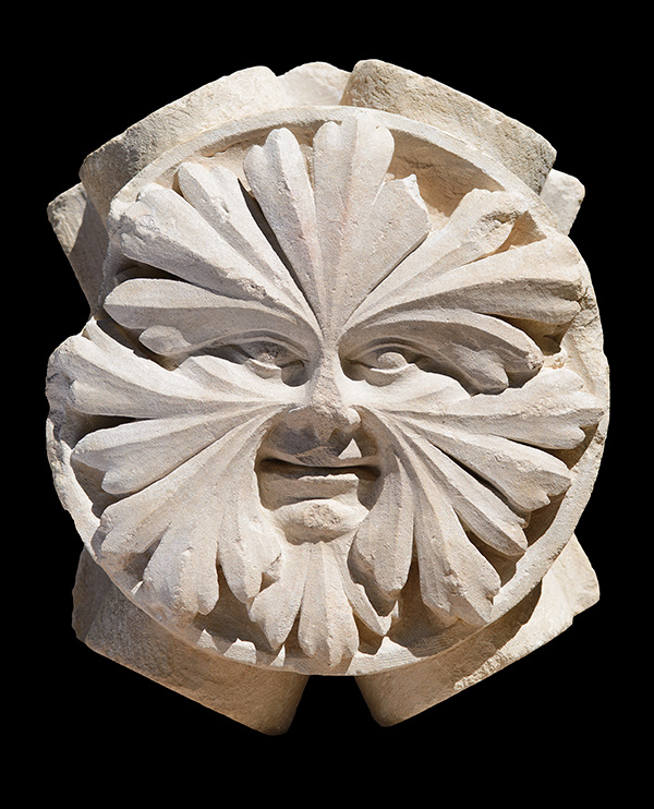 A Greek Green Man