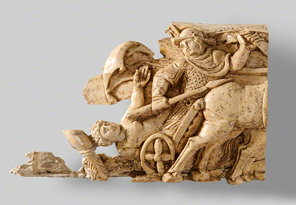 Plaque with the Life of Achilles / Byzantine