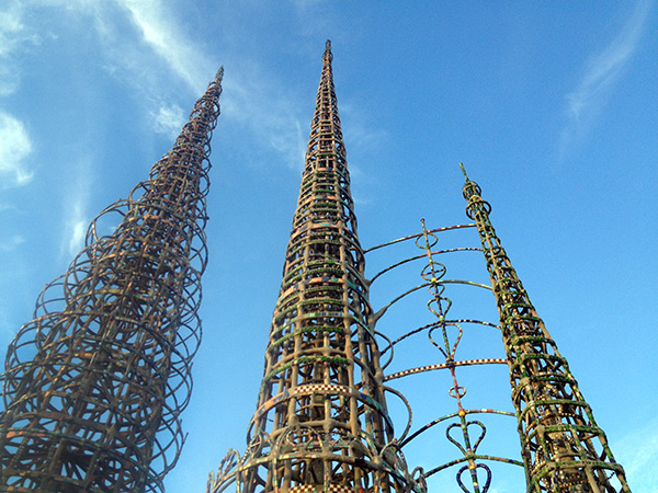 Watts Towers by Simon Rodia / Los Angeles