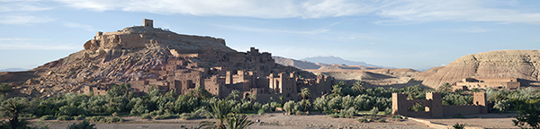 Ait-Ben-Haddou, a Unesco World Heritage site in Morocco