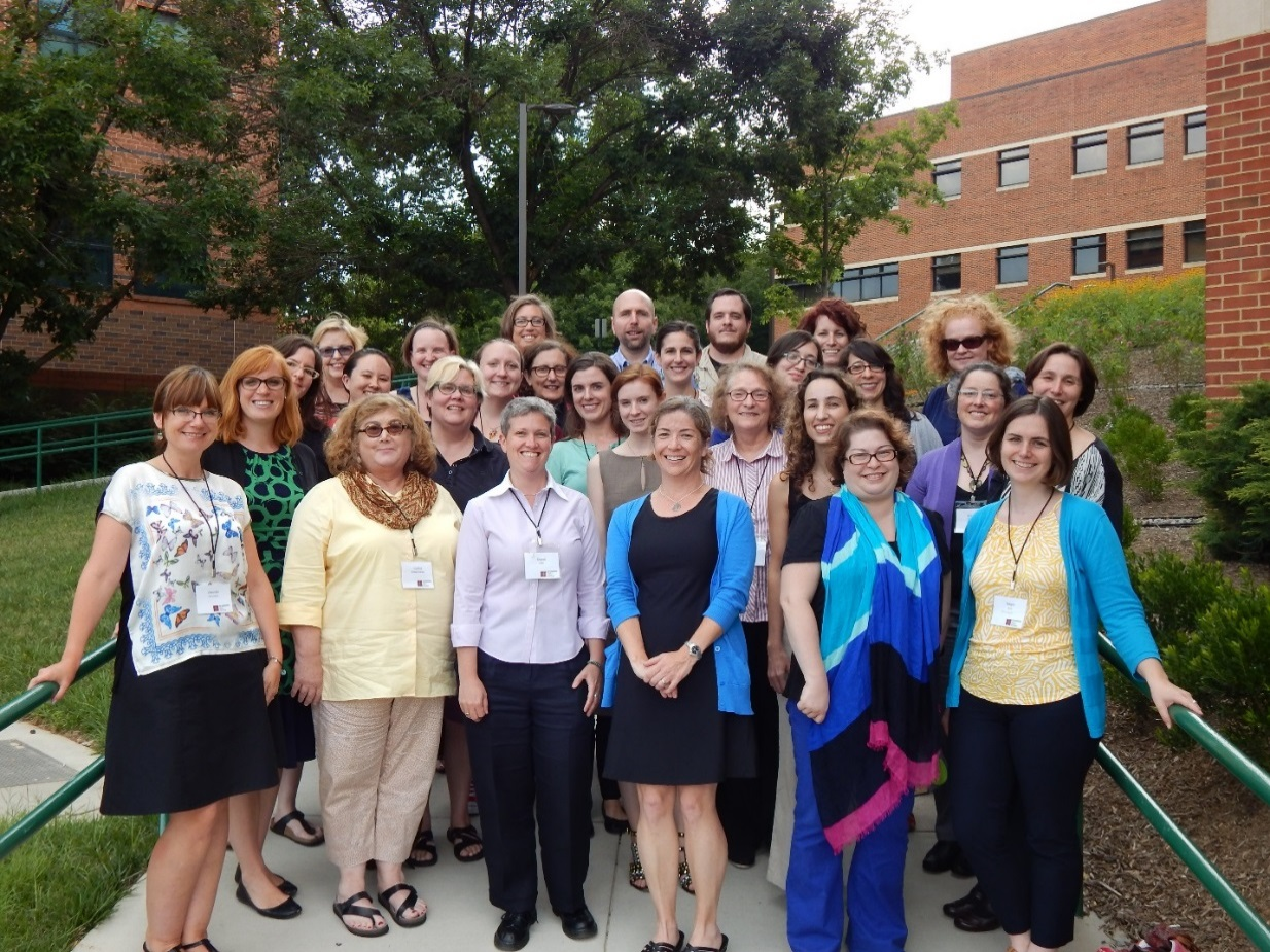 CHNM cohort at George Mason University. Photo courtesy Jhennifer Amundson.