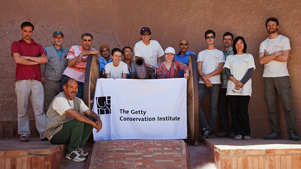 The Kasbah Taourirt team: CERKAS, GCI, and Carlton University
