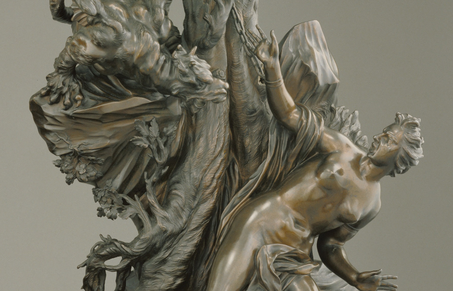 Andromeda (detail), 1600s–1700s, Massimiliano Soldiani-Benzi. J. Paul Getty Museum.