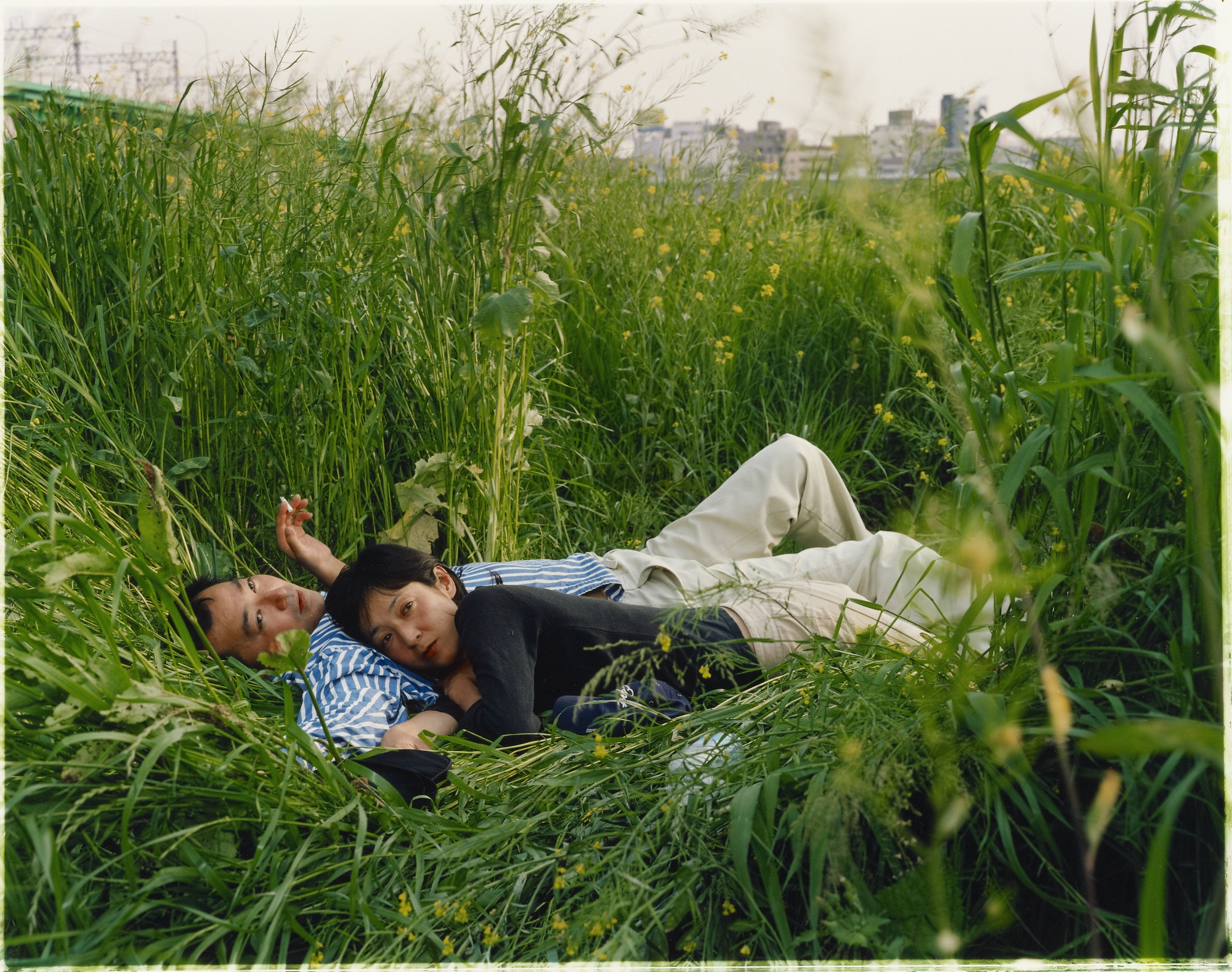 Picnic #32, 2005, Masato Seto. 16 15/16 x 21 7/16 inches. J. Paul Getty Museum. Purchased with funds provided by the Photographs Council. © Masato Seto