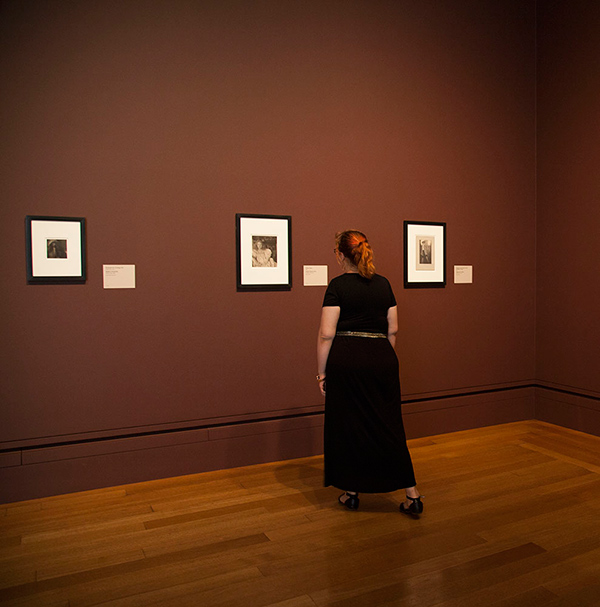 Gallery W205 featuring pictorialist photographs