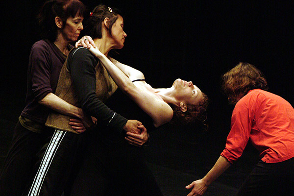 The Raindears perform Performance of Yvonne Rainer's Agon Indexical with a little help from H.M. in Helsinki, circa 2008