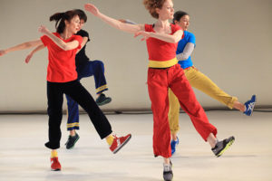 Performance of Yvonne Rainer's Assisted Living: Good Sports 2 at DIA Beacon