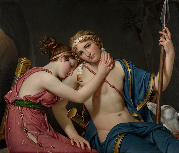 The Farewell of Telemachus and Eucharis / Jacques-Louis David