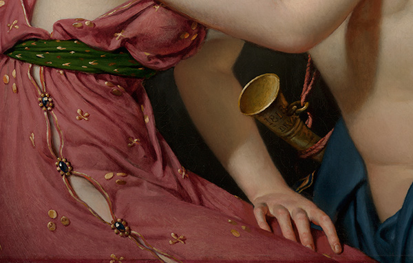 Farewell of Telemachus and Eucharis (detail) / Jacques-Louis David