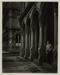 Arches of the Dodd Building / Minor White