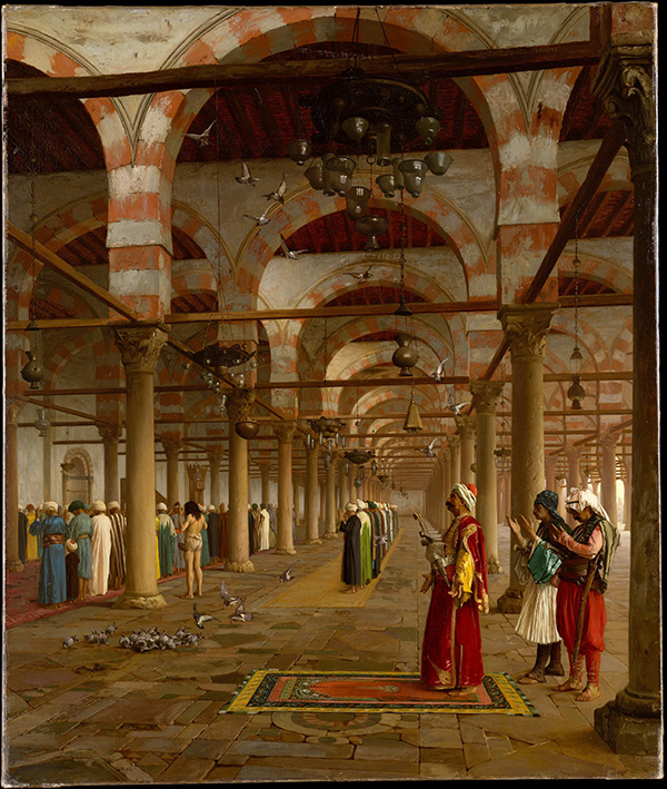 Prayer in the Mosque / Gerome