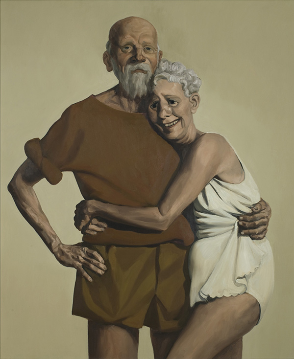Old Couple / John Currin