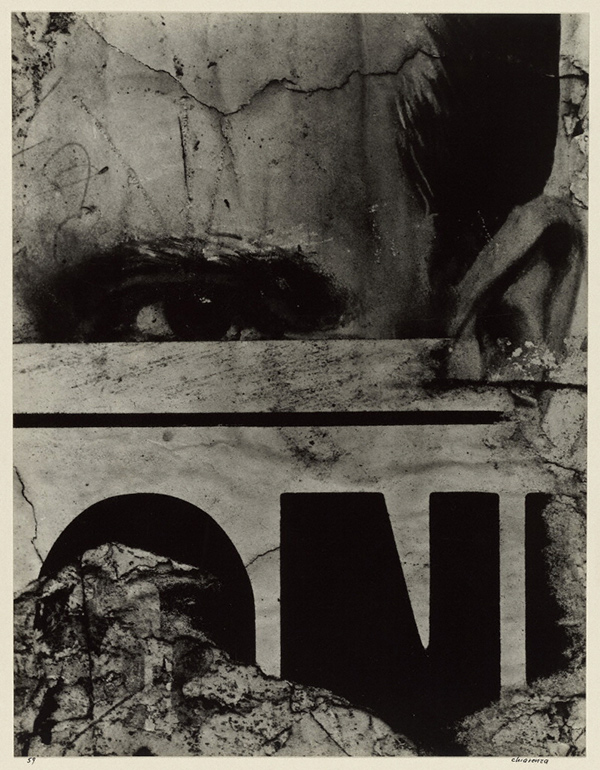 Untitled (Eye Sign, Boston West End Window) / Carl Chiarenza