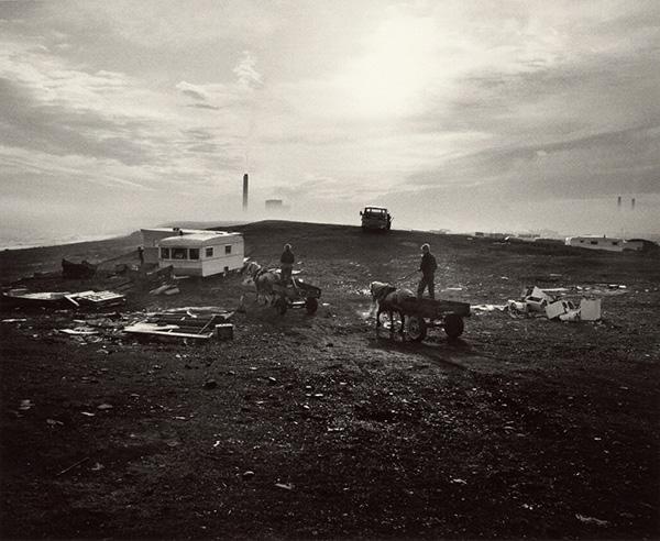 Seacoal Camp, Lynemouth, Northumberland / Chris Killip