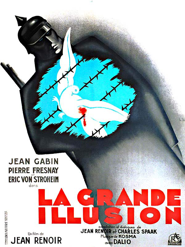 Poster for Jean Renoir's movie La Grande Illusion