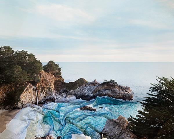 Response to Print of McWay Falls, California / Laura Plageman