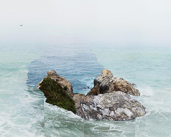 Response to Print of Pelican Rock / Laura Plageman