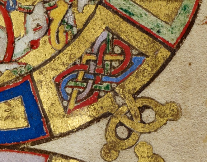 Inhabited Initial B in Breviary, 1153. The J. Paul Getty Museum, Ms. Ludwig IX 1, fol. 140v