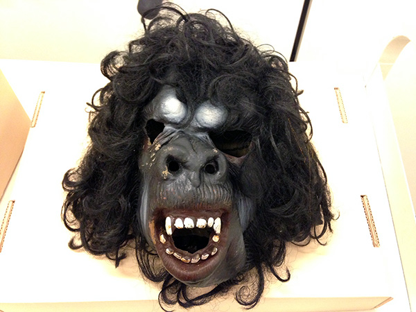 Mask used by the Guerrilla Girls in their actions