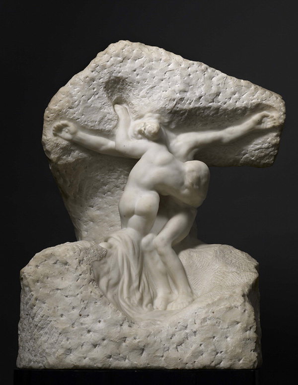 Christ and Mary Magdalene / Auguste Rodin
