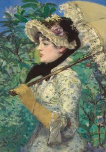 Spring (Jeanne Demarsy) / Manet
