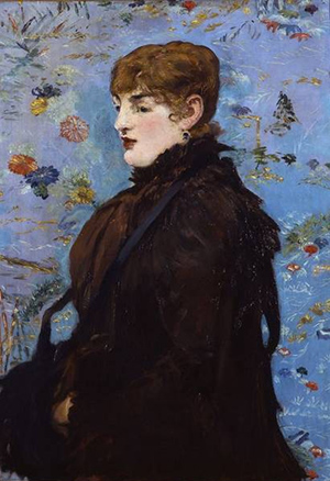 Autumn (Mery Laurent) / Manet