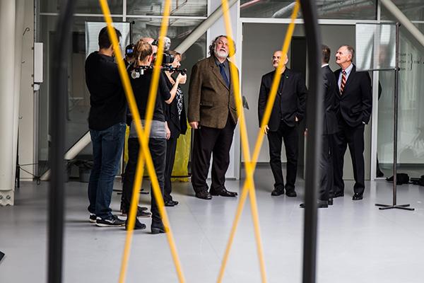 Inside the Ladislav Sutnar Faculty of Design and Art