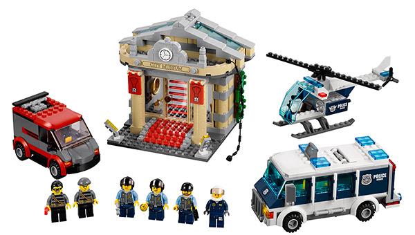 LEGO Museum break-in set