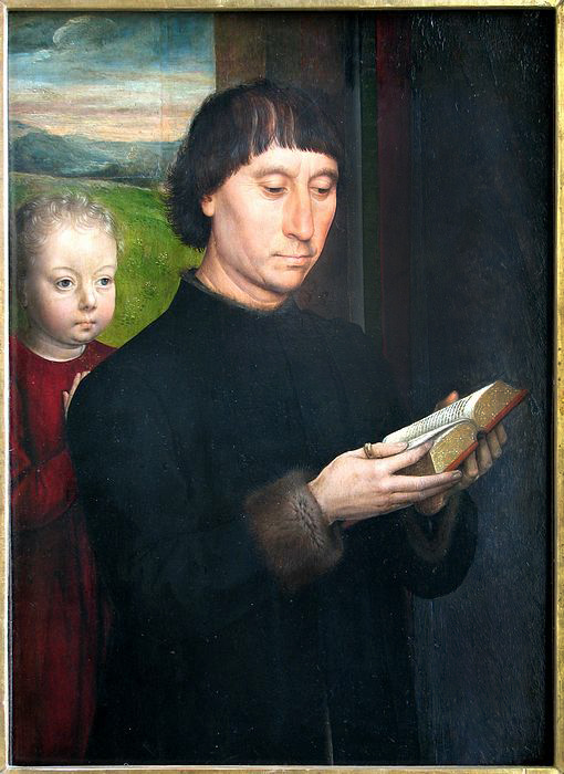 Portrait of a Man Reading / Hans Memling