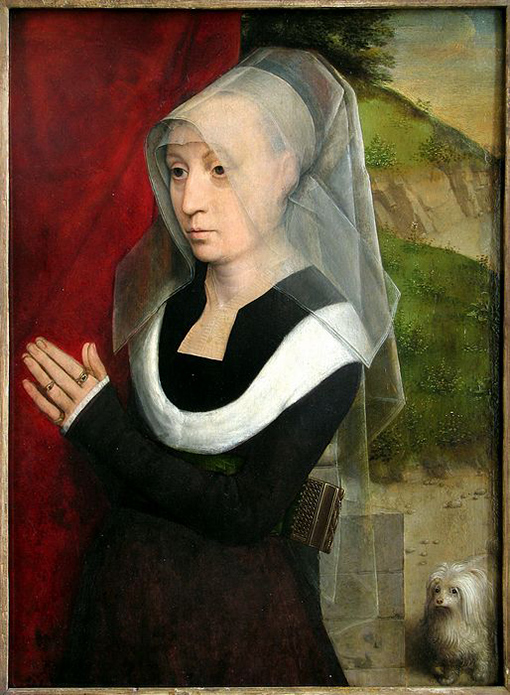 Portrait of a Woman Praying / Hans Memling