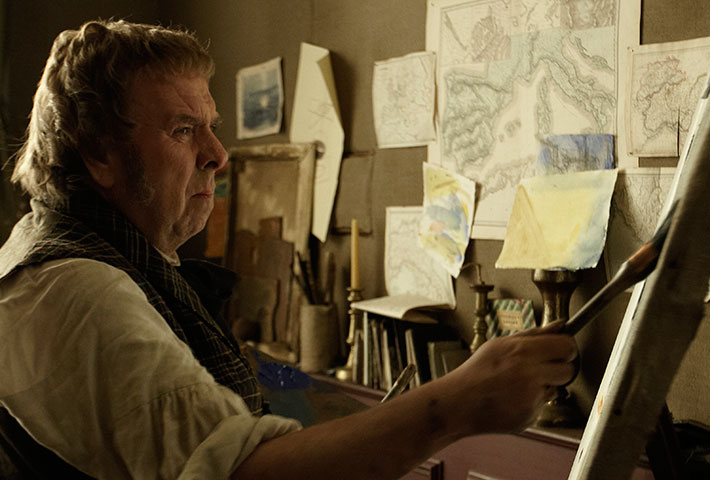 Timothy Spall as J. M. W. Turner