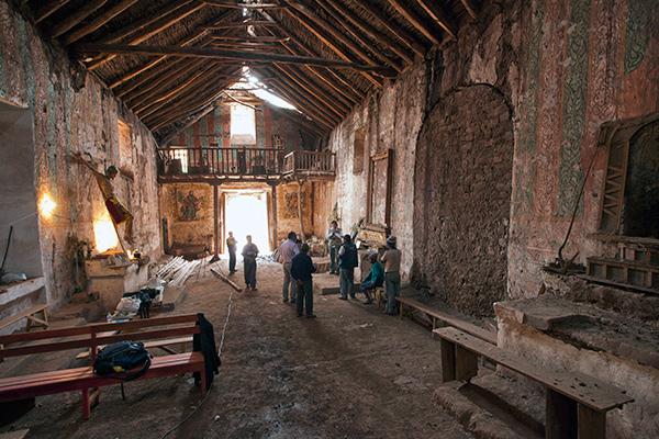 Conservation work on the Church of Santiago Apóstol of Kuño Tambo, Peru