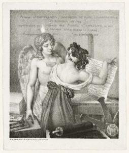 The Genius of Lithography / Nicolas Henri Jacob