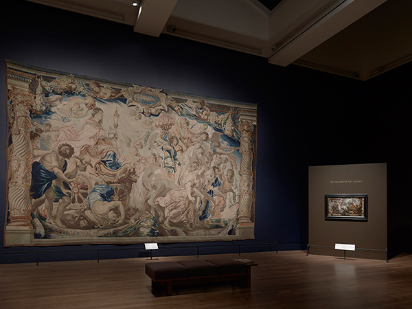 Installation view of Spectacular Rubens