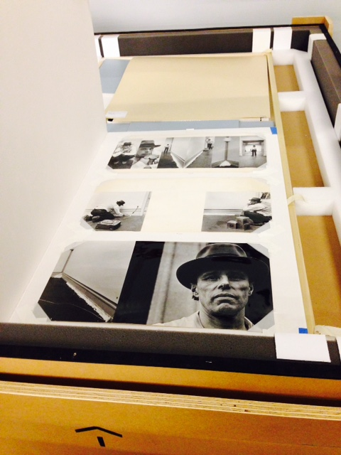 Photographs of Joseph Beuys from the Shunk-Kender archive