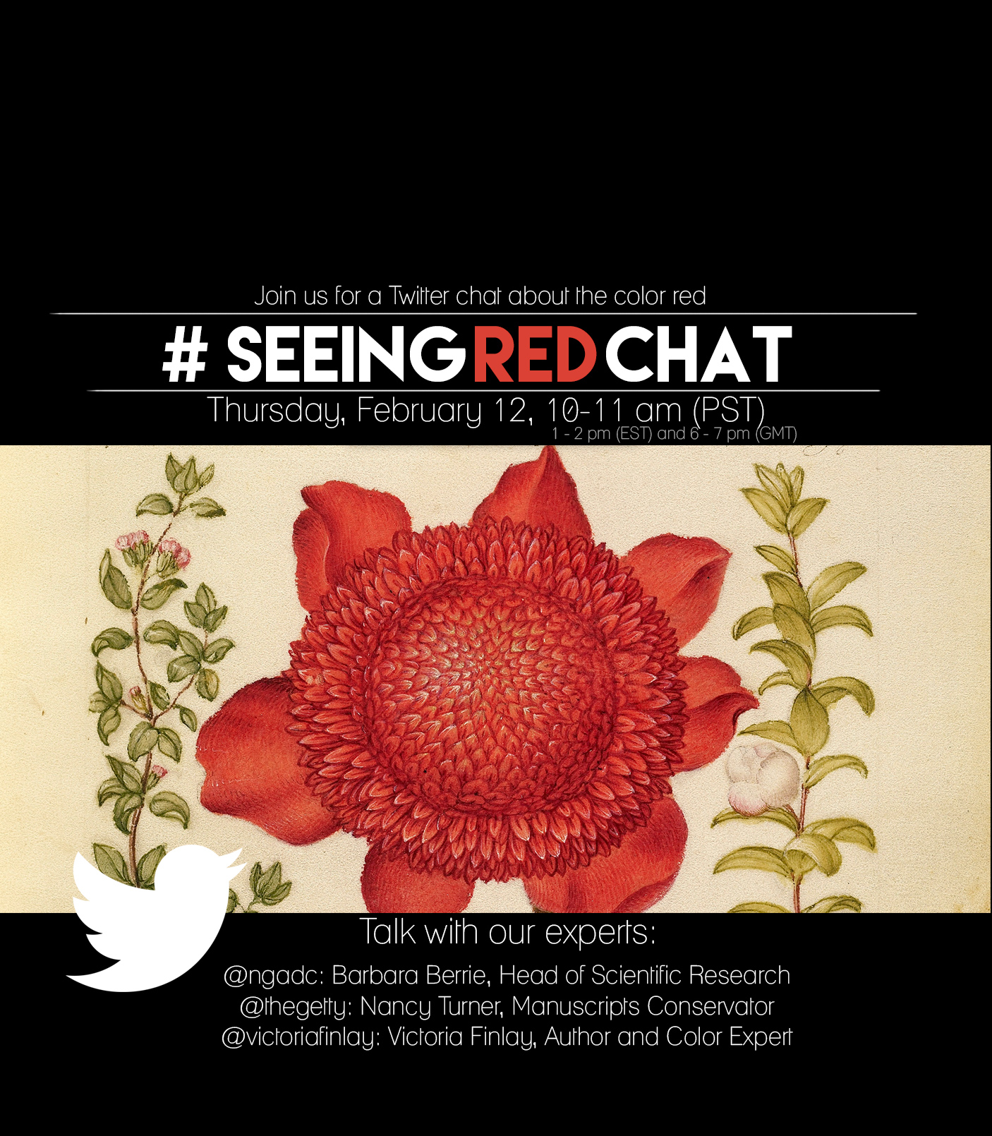 Join Three Color Experts for a Twitter Chat about Red | The Getty Iris