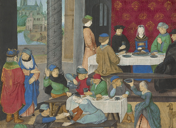 Middle Ages Food Menu