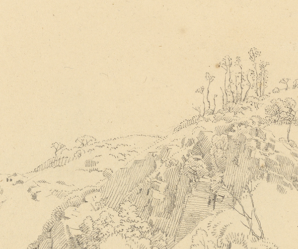 Landscape (detail) / Friedrich