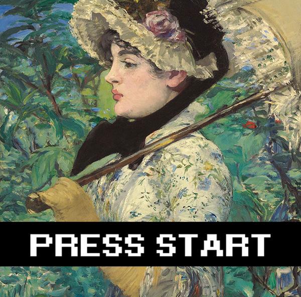 Press Start! Getty Game Jam / Edouard Manet's Spring