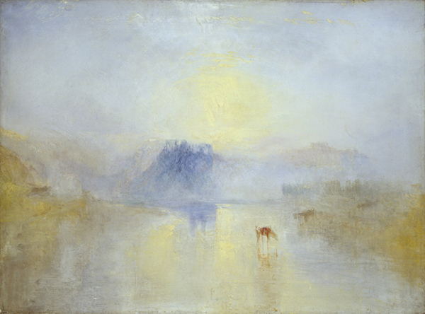 Norham Castle, Sunrise / JMW Turner