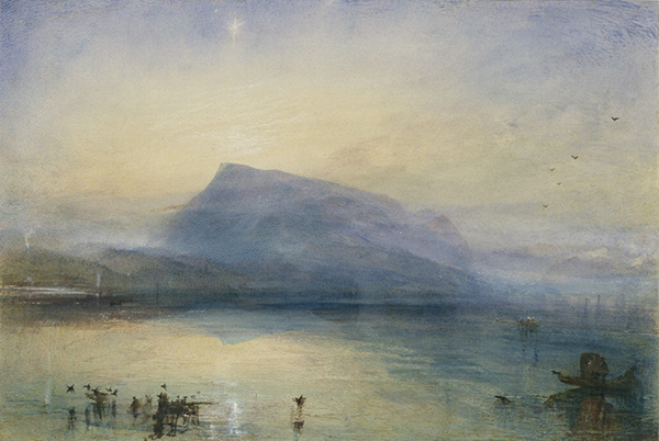 The Blue Rigi, Sunrise / JMW Turner