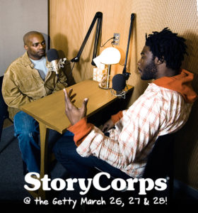 StoryCorps interview featuring two African American men