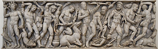 Sarcophagus with the Labors of Heracles / Roman