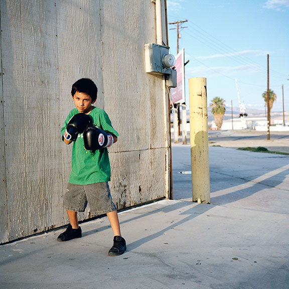 Sebastian, eleven years old, Thermal, Riverside County, 2011