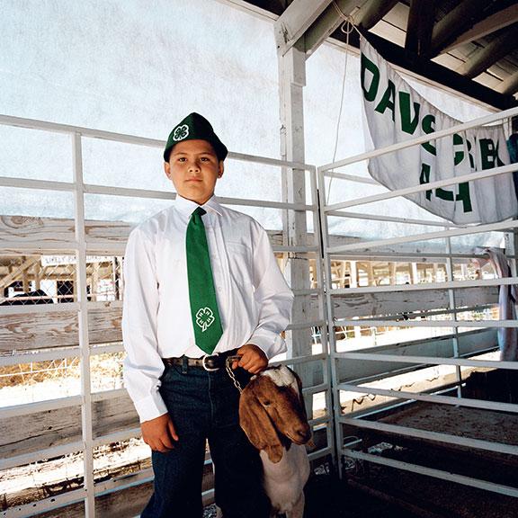 Jesús, Junior Livestock Show. Alturas, Modoc County, 2011