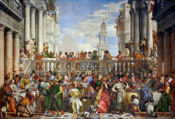 The Wedding Feast at Cana / Paolo Veronese