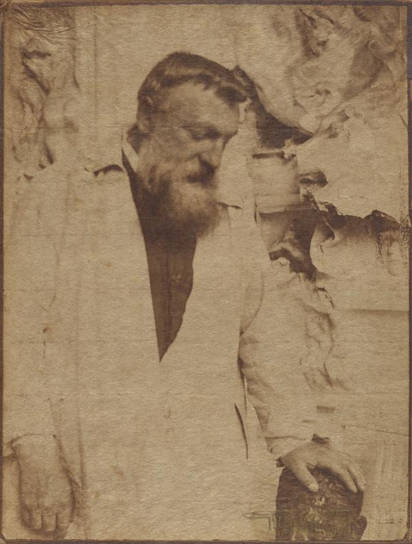 Auguste Rodin, 1905, Gertrude Kaseiber. Platinum print. J. Paul Getty Museum.