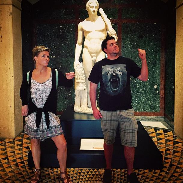 #MusePose at the Getty Villa
